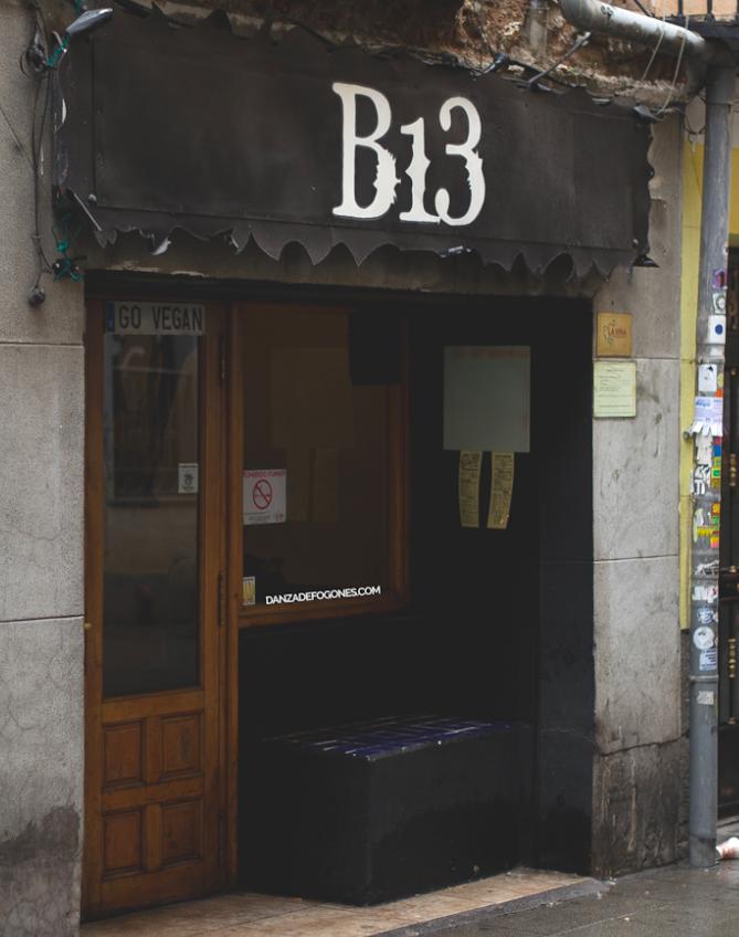 Bar vegano Madrid