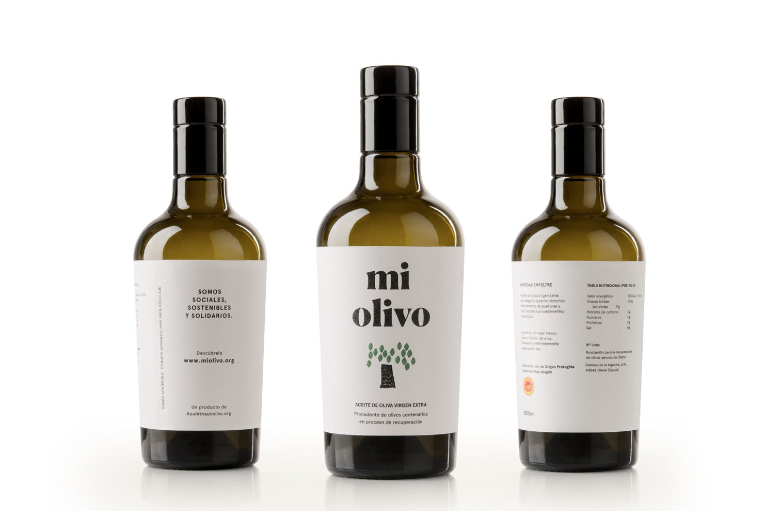 Cómo apadrinar un olivo con Apadrinaunolivo.org