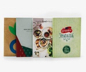 regalos empresa sostenible libreta sostenible plantable portada blanca