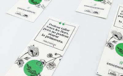 El marcapáginas plantable de Bonpreu: un detalle en tiempos de Pandemia