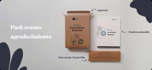 regalo evento sostenible