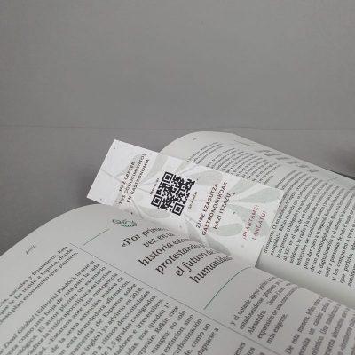 Marcapaginas personalizado plantable
