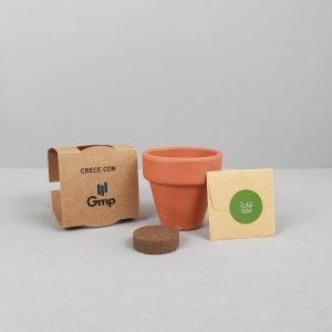 kit plantable de barro