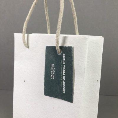 bolsa plantable con semillas