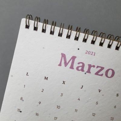 calendario ecologico plantable