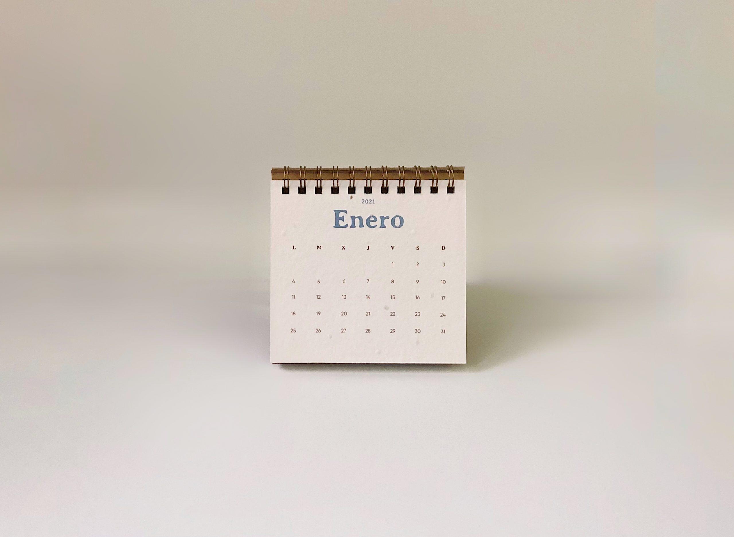 plantable seed paper calendar