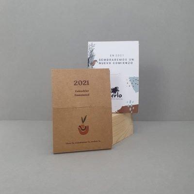 calendario sostenible plantable