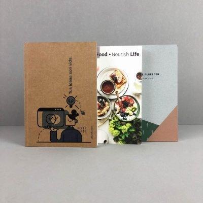 cuaderno ecologico con semillas