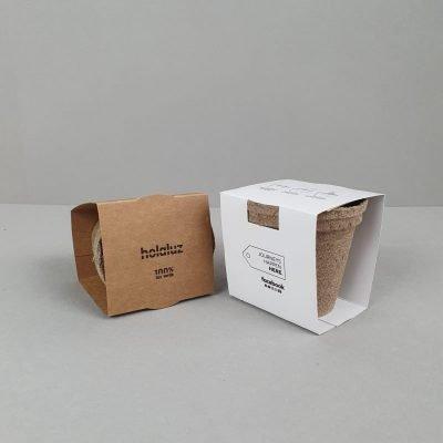kit plantable biodegradable