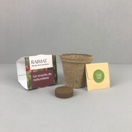 kit plantable biodegradable