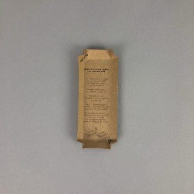 tarjetones kraft papel plantable