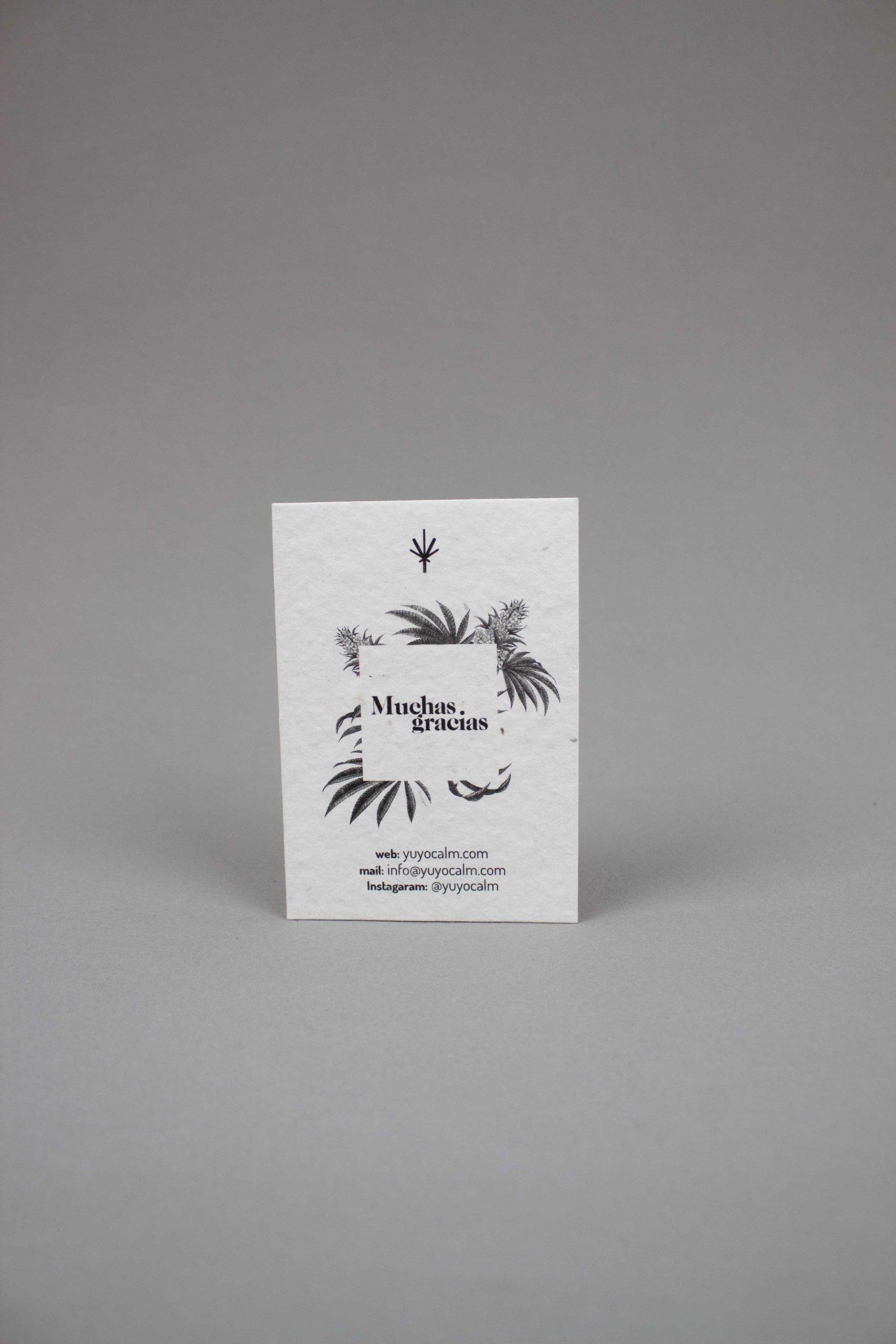 tarjetas plantables Yuyo Calm