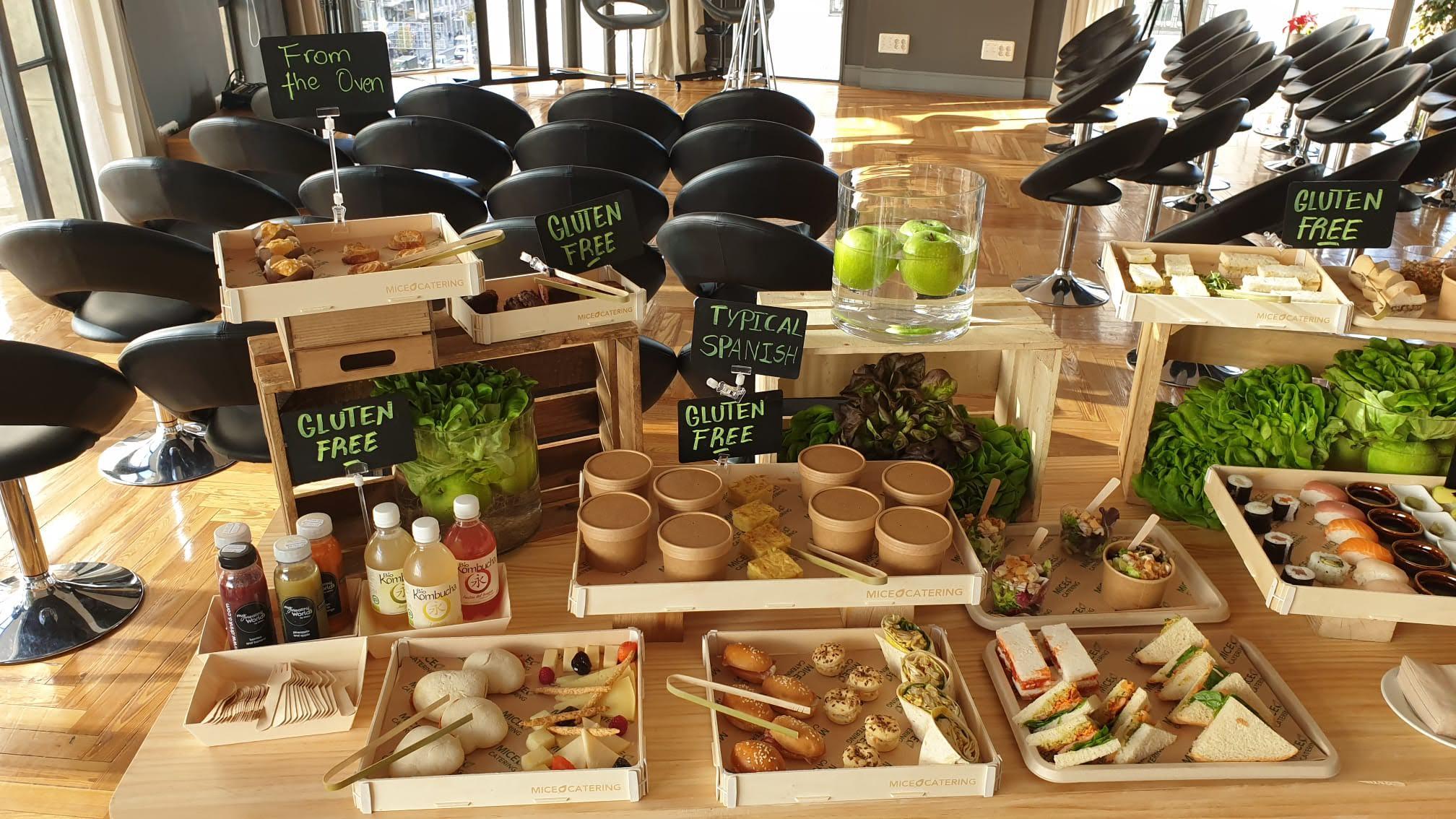 empresas de catering sostenibles MICE