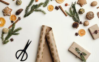 Regalos de empresa ecológicos para Navidad